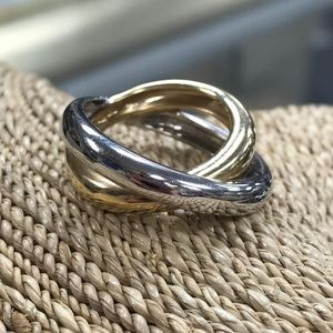 14kt Two Tone Gold Ring